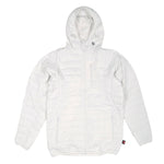 Candy Grind: Sleeping Bag Hoodie - White