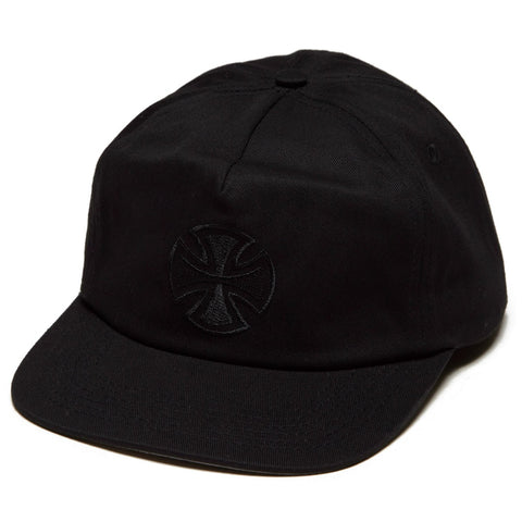 Independent: Black Bar/Cross Fade Out Snapback