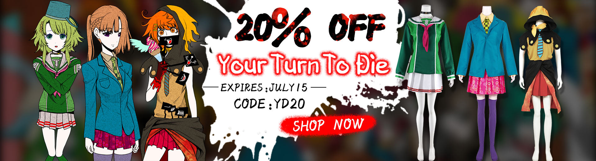 Your Turn to Die 20% Off