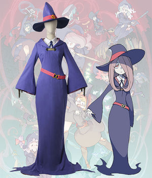 Little Witch Academia Sucy Manbavaran Uniform Cosplay Costume