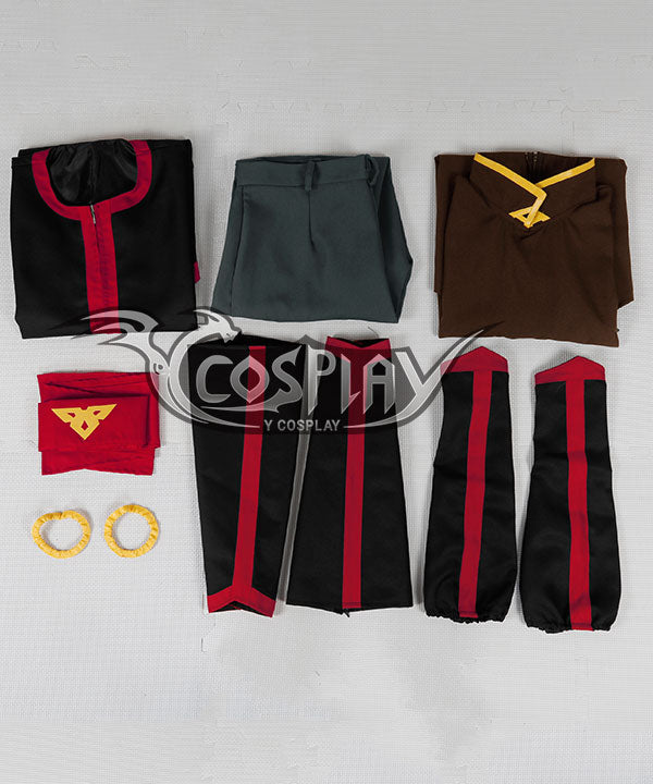 Avatar The Last AirBender Aang Cosplay Costume