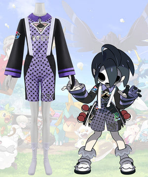 Pokemon Pokemon Sword and Shield Ghost-type Gym Leader Allister Cosplay Costume