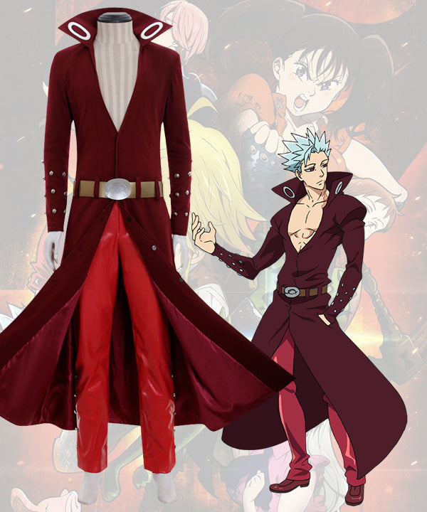 The Seven Deadly Sins: Revival of The Commandments Ban Cosplay Costume