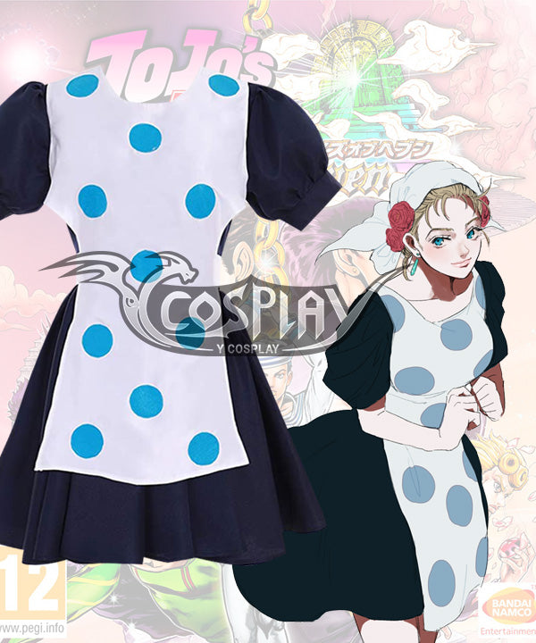 Jojo'S Bizarre Adventure: Phantom Blood Suzi Q Cosplay Costume