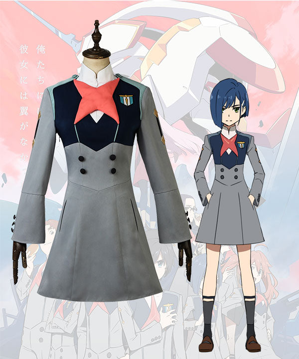 Darling In The Franxx Ichigo Miku Kokoro Ikuno Cosplay Costume