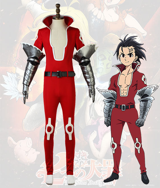The Seven Deadly Sins: Revival Of The Commandments Nanatsu No Taizai Season 2 Zeldris Outfit Cosplay Costume