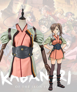 Kabaneri Of The Iron Fortress Kajika Cosplay Costume