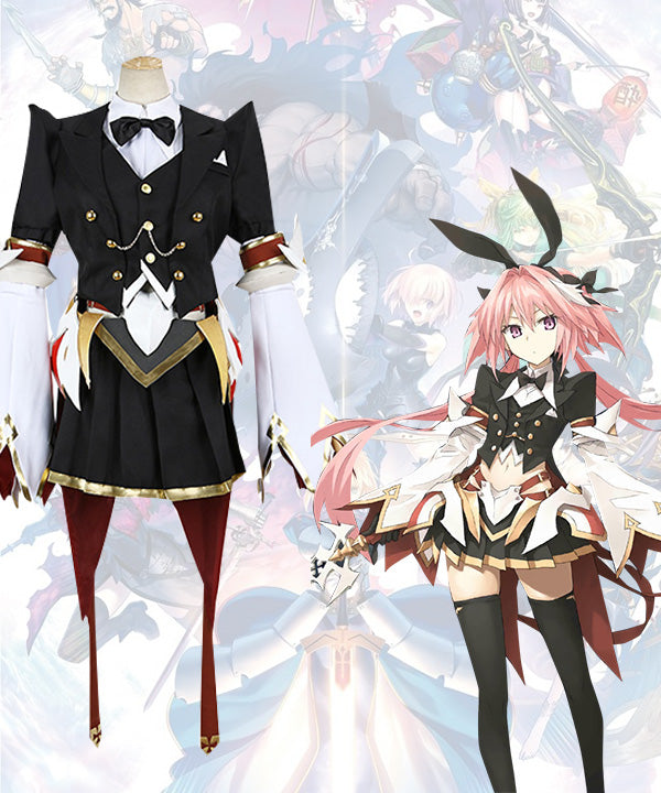 Fate Grand Order Saber Astolfo Black Maid Cosplay Costume