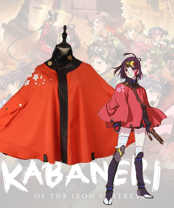 Kabaneri Of The Iron Fortress Mumei Cosplay Costume Only Clock