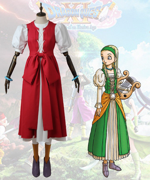 Dragon Quest XI: Echoes of an Elusive Age Veronica Cosplay Costume - No Boots