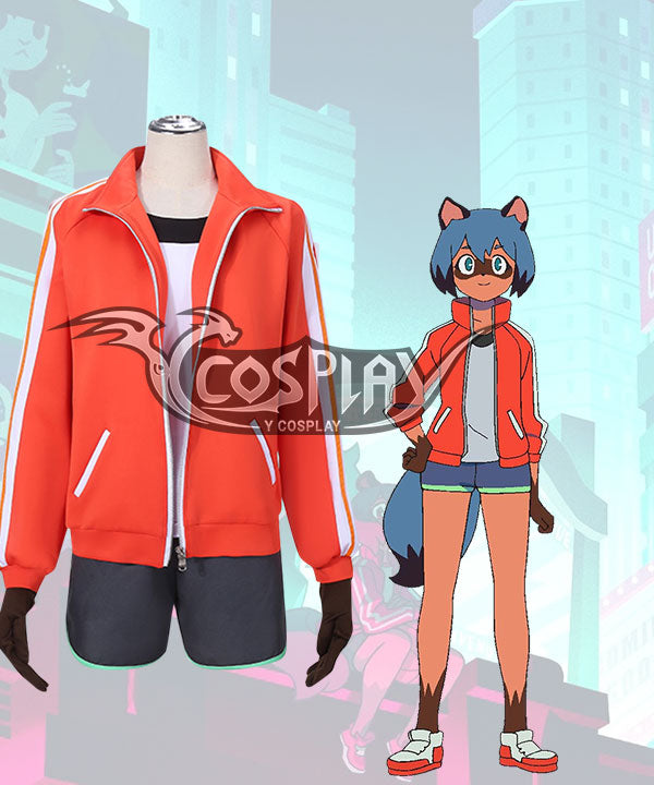 Brand New Animal BNA Michiru Kagemori Cosplay Costume