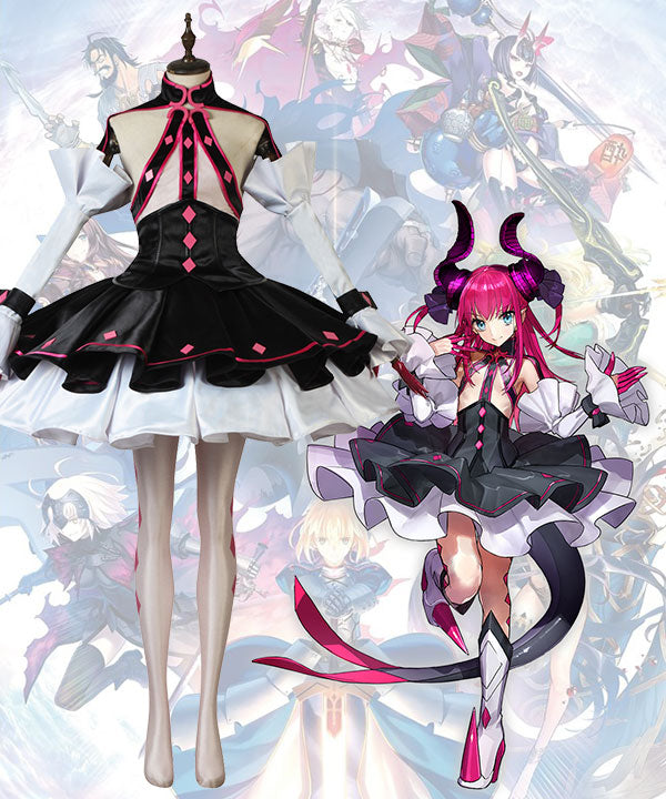 Fate Grand Order Fate EXTRA CCC Lancer Elizabeth Bathory Cosplay Costume