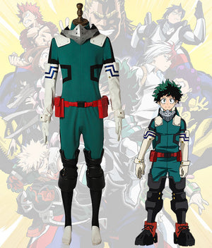 My Hero Academia Izuku Midoriya 2.0 Battle Suit Cosplay Costume