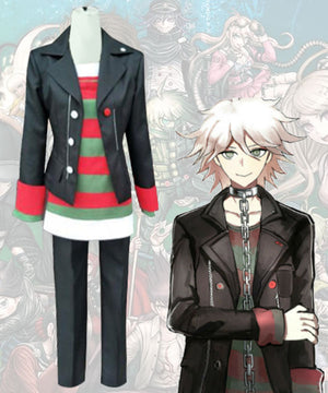 Danganronpa Another Episode: Ultra Despair Girls Komaeda Nagido Cosplay Costume