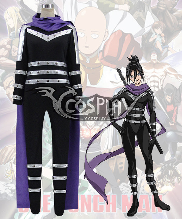 One Punch Man Speed of Sound Sonic Onsoku no Sonikku Cosplay Costume