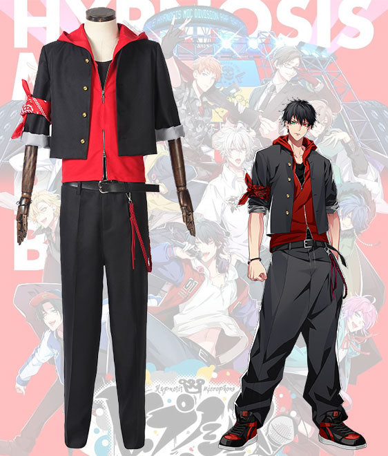 Hypnosis Mic Division Rap Battle The Dirty Dawg Ichiro Yamada MC.B.B Big Brother Cosplay Costume