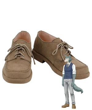 Beastars Legoshi Brown Cosplay Shoes
