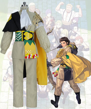 Fire Emblem: Three Houses Claude Von Regan Time Skip Cosplay Costume