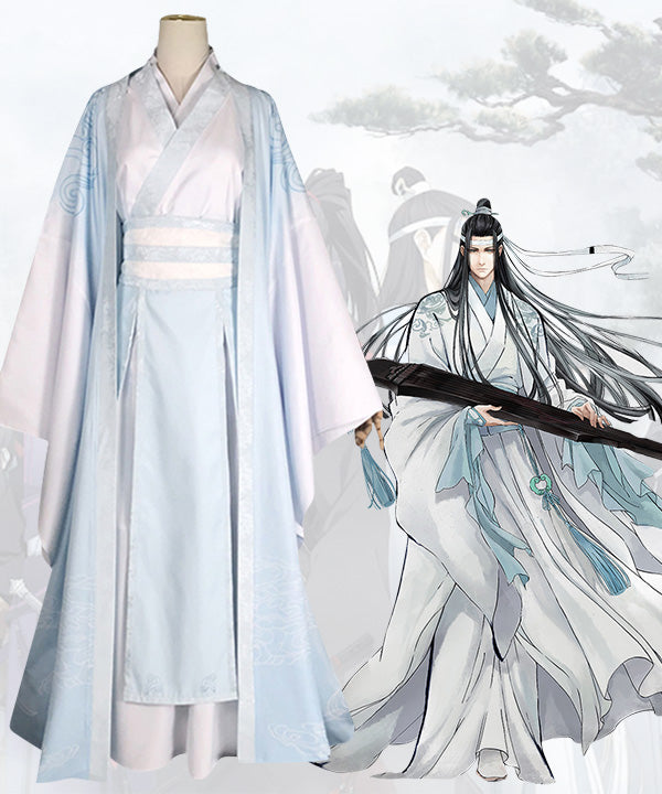 The Grandmaster of Demonic Cultivation Mo Dao Zu Shi Lan Wangji Cosplay Costume
