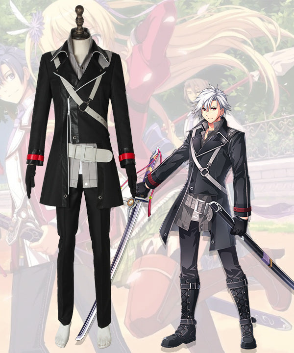 The Legend of Heroes: Trails of Cold Steel IV -THE END OF SAGA- �� Rean Schwarzer Cosplay Costume