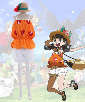 Pok¨¦mon Pokemon Ultra Sun and Ultra Moon Female Protagonist Cosplay Costume