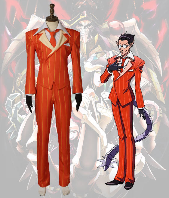 Overlord Demiurge Outfit Cosplay Costume