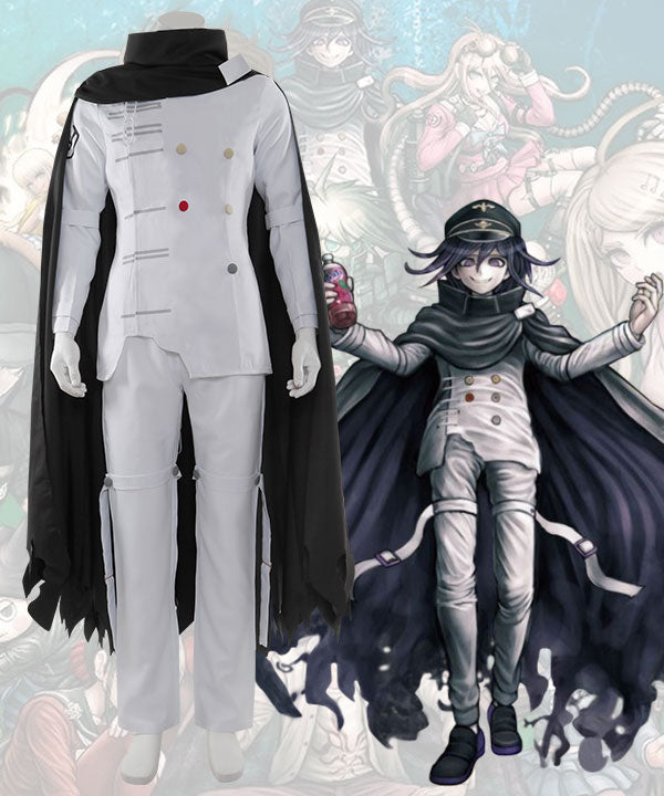 Danganronpa Dangan Ronpa V3: Killing Harmony Kokichi Oma Ultimate Supreme Leader Cosplay Costume