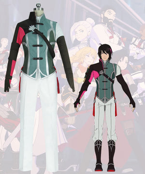 RWBY Volume 7 Lie Ren Cosplay Costume