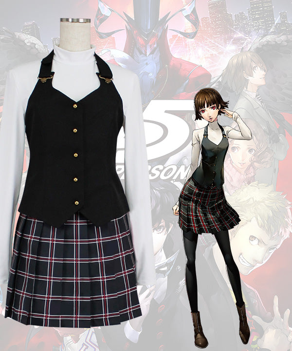 Persona 5 Makoto Niijima Cosplay Costume - New Edition