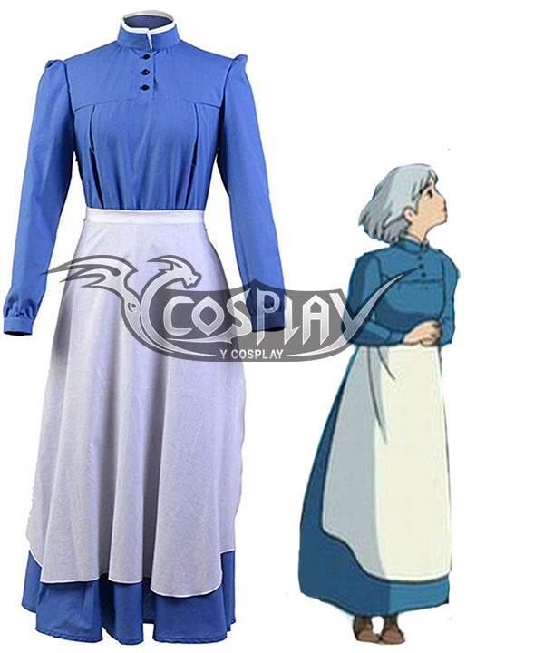 Howl's Moving Castle Sophie Hatter Cosplay Costume B Edition