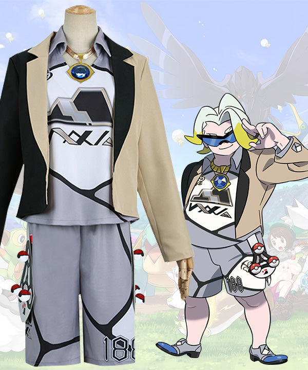 Pokemon Pok¨¦mon Sword And Shield Gordie Uniform Cosplay Costume