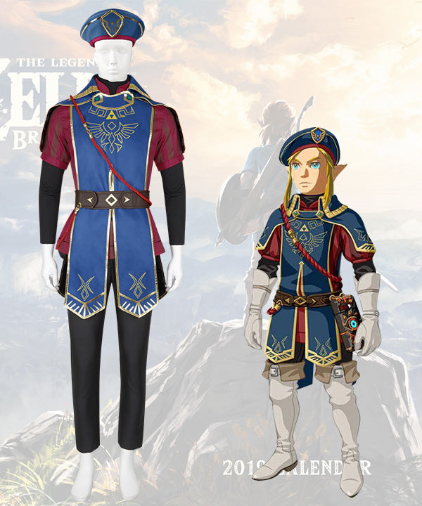 The Legend Of Zelda Breath Of The Wild Link Royal Guard Dlc Cosplay C Ycosplay