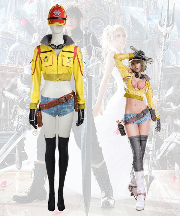 Final Fantasy XV Cindy Aurum Cosplay Costume