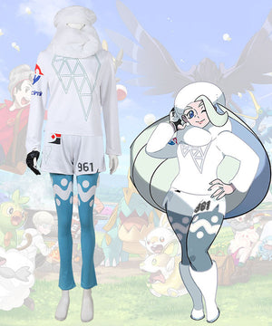 Pokemon Pok¨¦mon Sword And Shield Melony Cosplay Costume