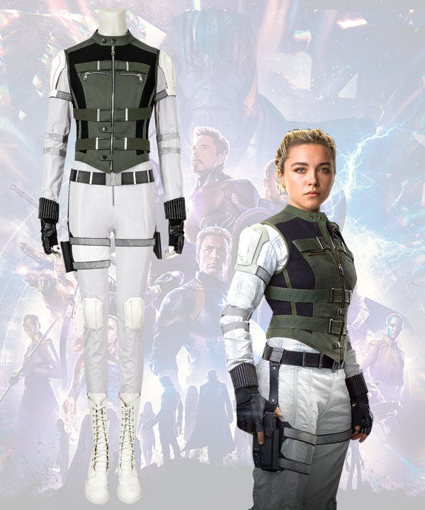 Marvel Black Widow 2020 Yelena Belova Cosplay Costume