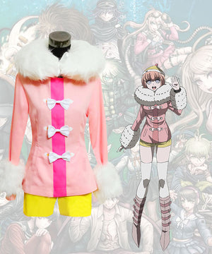 Danganronpa 3: The End of Hope's Peak High School Andoh Ruruka Cosplay Costume