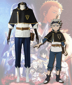Black Clover Asta Cosplay Costume - Latest Arrival