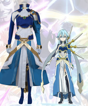Sword Art Online Alicization SAO Asada Shino Sinon Cosplay Costume