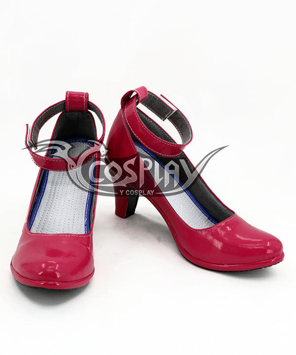 Nekopara Chocola Rose red Cosplay Shoes