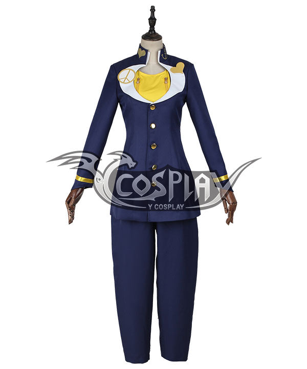 JoJo's Bizarre Adventure: Diamond Is Unbreakable Josuke Higashikata Cosplay Costume