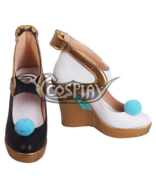 Vocaloid Hatsune Miku Magical Mirai 2019 Black Golden Cosplay Shoes