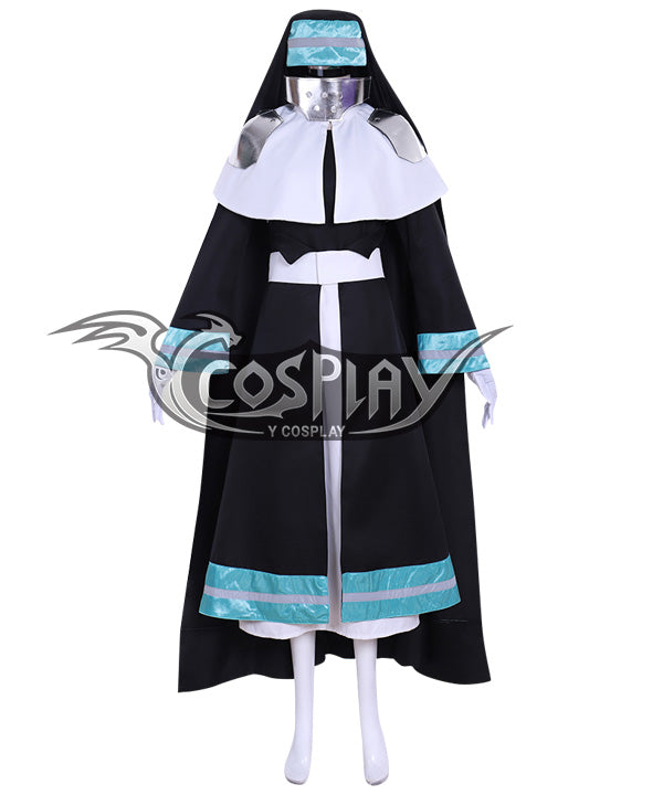 Fire Force Enen no Shouboutai Iris Battle Suit Cosplay Costume