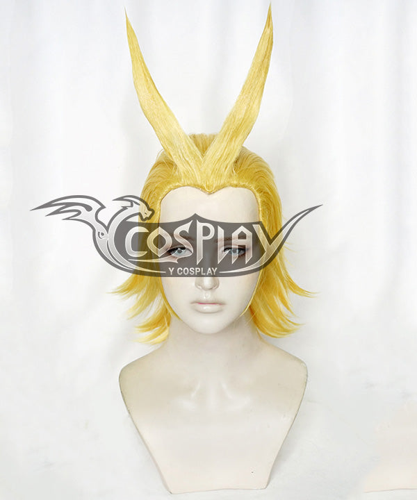 My Hero Academia Boku No Hero Akademia All Might Golden Cosplay Wig