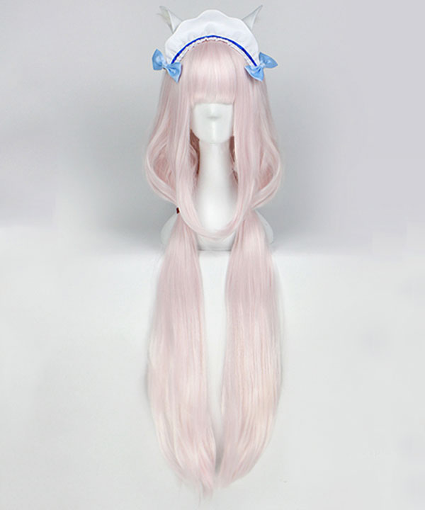 Nekopara Vanilla Light Pink Cosplay Wig