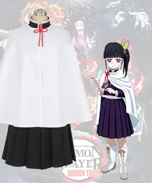 Demon Slayer: Kimetsu No Yaiba Kanao Tsuyuri Cosplay Costume