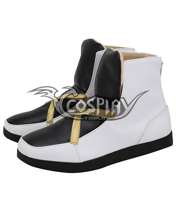 Pokemon Pokémon Sword And Pokémon Shield Leon Black White Cosplay Shoes