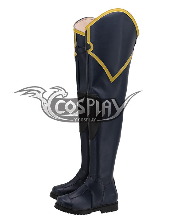 Valorant Viper Deep Blue Shoes Cosplay Boots