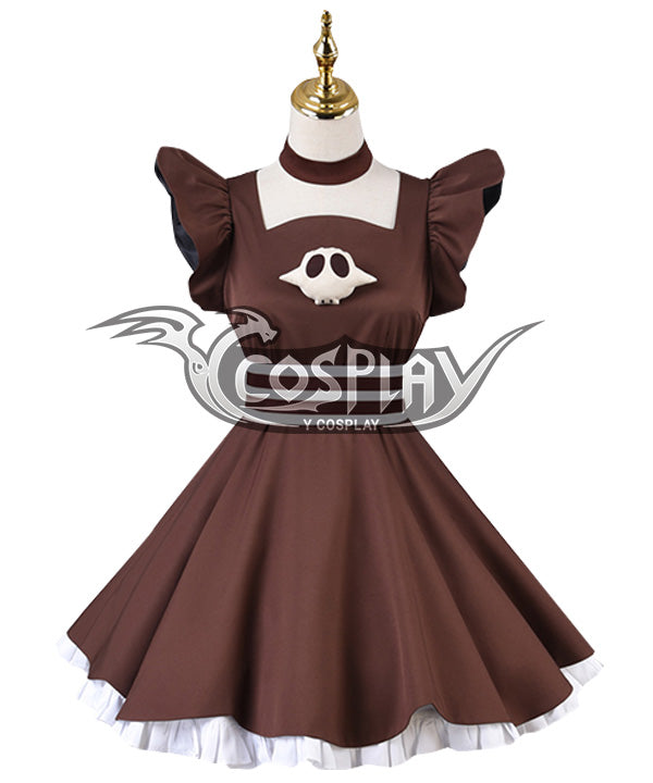 Jibaku Shounen Hanako-Kun Yashiro Nene Brown Cosplay Costume