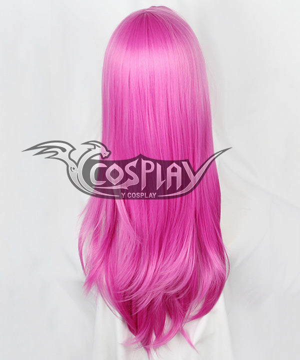 JOJO's Bizarre Adventure Golden Wind Diavolo Deep Pink Cosplay Wig
