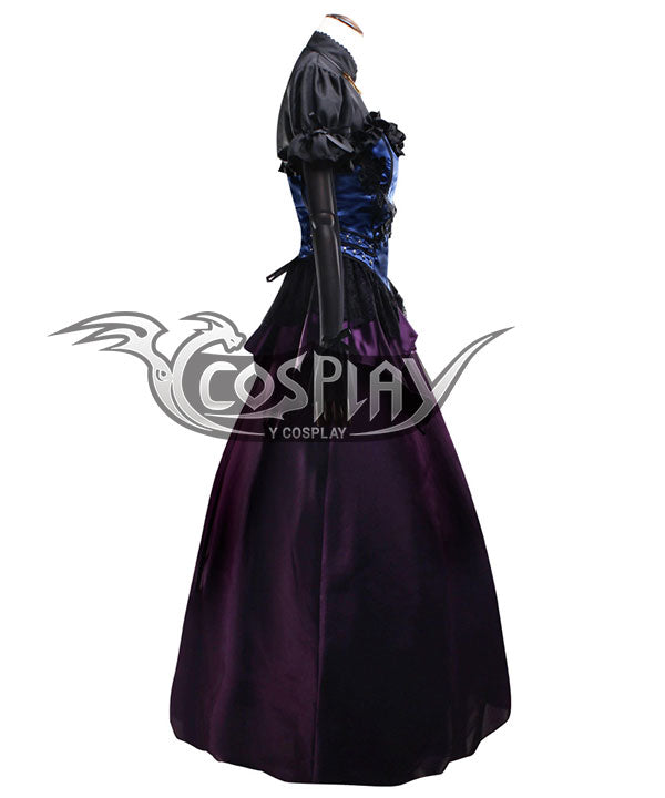 Final Fantasy VII Remake Cloud Strife Girl Ver2 Cosplay Costume